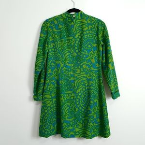 Vintage Dresses - Vintage 1960s Mod Mini dress by Gay Gibson small